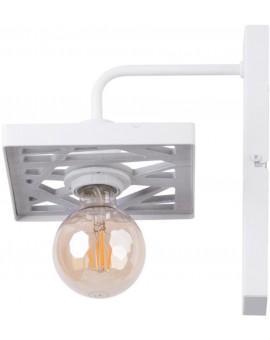 Wandlampe Wandleuchte Vintage Loft Edison Retro MAGNUM weiß 31847
