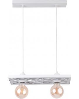 Deckenlampe Hängelampe Vintage Loft Edison Retro MAGNUM weiß 31840