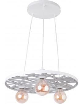 Deckenlampe Hängelampe Vintage Loft Edison Retro MAGNUM weiß 31842