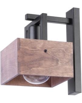 WALL LAMP DAKOTA WOOD AND METAL 31752 SIGMA