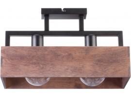 Lampe Deckenleuchte Deckenlampe DAKOTA Modern Design Holz Metall 31742