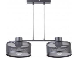 Lampe Hängelampe Deckenleuchte BONO 2 Raster Vintage Loft 31902