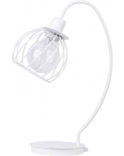 LAMPA STOŁOWA DRUCIANA REGGE BIAŁY 50179 SIGMA