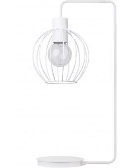 LAMPA STOŁOWA DRUCIANA KONGO BIAŁY 50168 SIGMA
