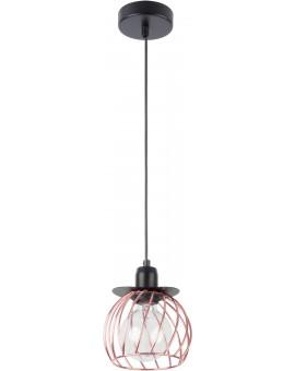 LOFT STYLE WIRE HANGING LAMP CEILING LAMP REGGE BLACK/COPPER 31862 SIGMA