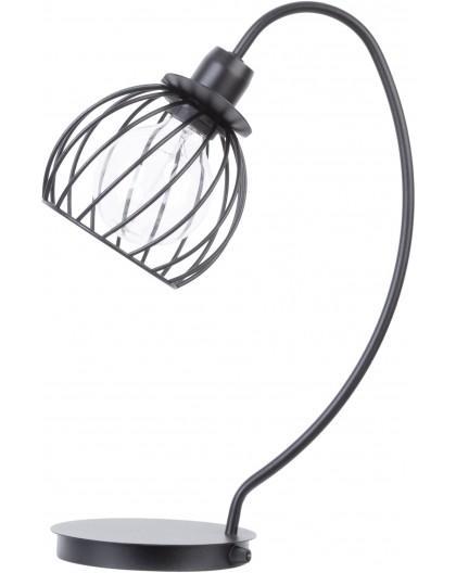LAMPA STOŁOWA DRUCIANA REGGE CZARNY 50180 SIGMA