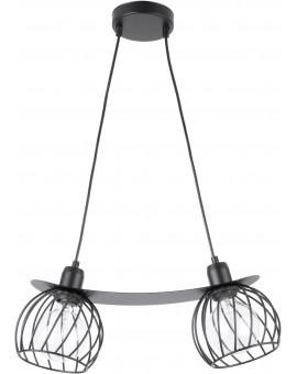 LOFT STYLE WIRE HANGING LAMP CEILING LAMP REGGE BLACK 31854 SIGMA