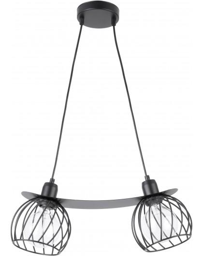 LAMPA ZWIS DRUCIANY REGGE CZARNY 31854 SIGMA