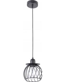 LOFT STYLE WIRE HANGING LAMP CEILING LAMP REGGE BLACK 31859 SIGMA