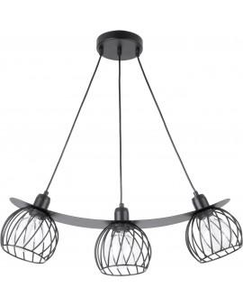 LOFT STYLE WIRE HANGING LAMP CEILING LAMP REGGE BLACK 31849 SIGMA