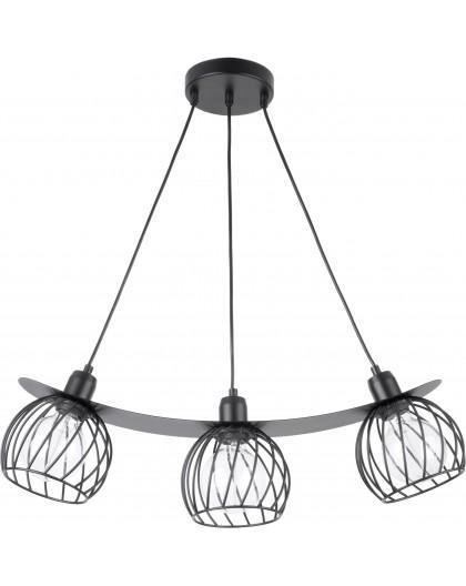 LAMPA ZWIS DRUCIANY REGGE CZARNY 31849 SIGMA