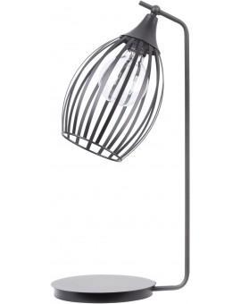 LAMPA STOŁOWA DRUCIANA GRAPPA CZARNY 50162 SIGMA