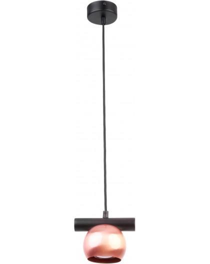 LAMPA WISZĄCA HIPPO CZARNY/MIEDZIANY 33132 SIGMA