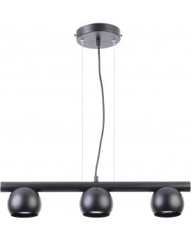 HANGING LIGHT PENDANT LAMP HIPPO BLACK 33116 SIGMA