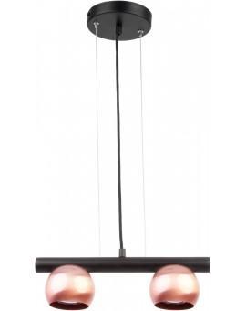 LAMPA WISZĄCA HIPPO CZARNY/MIEDZIANY 33126 SIGMA