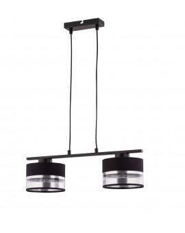 LAMPA SOFIA 2 ZWIS czarny srebrny 32166 SIGMA