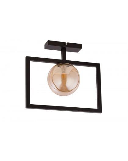 LAMPA PLAFON COSMIC CZARNY/BURSZTYNOWY 32132 SIGMA