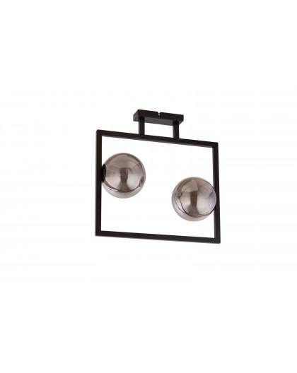 LAMPA PLAFON COSMIC CZARNY/SZARY 32127 SIGMA