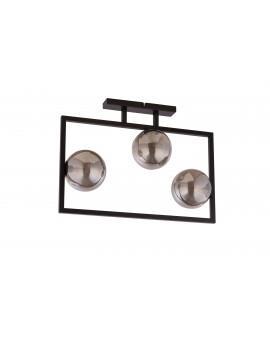 LAMPA PLAFON COSMIC CZARNY/SZARY 32123 SIGMA